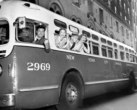 Model 1950/51 gm tdh-4509 (new york city omnibus