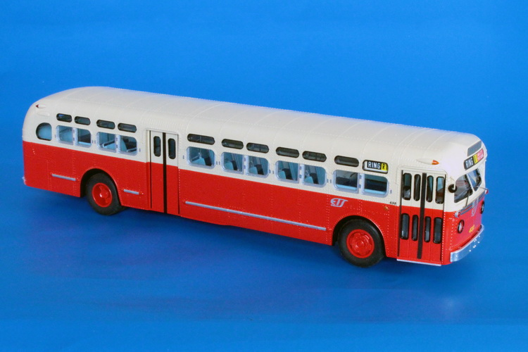 Car Dealers Toronto >> High quality O-scale models of the trams/streetcars ...